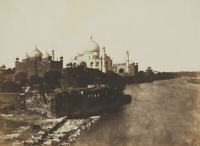 Dr. John Murray, 'Pavillion and Mosque Attached to the Taj', 1857