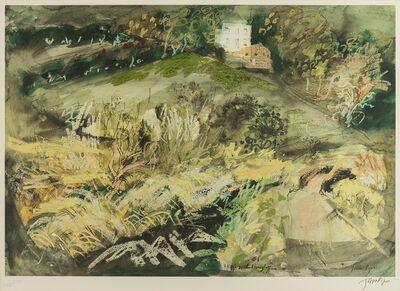 John Piper, 'Llangloffan (not in Levinson)', 1980
