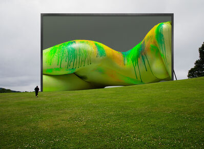 Howard Schatz, 'Installation Study #147:  Storm King Arts Center:  Melissa Re', 2019