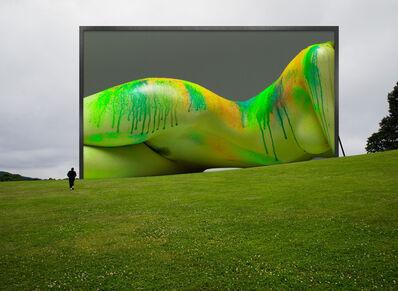 Howard Schatz, 'Installation Study #147:  Storm King Arts Center:  Melissa Re', 2019