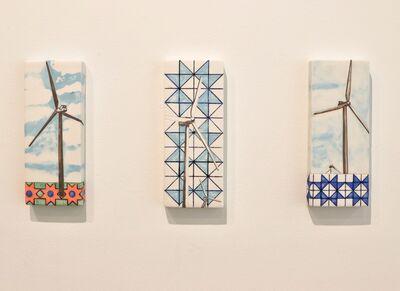 Tiffany Bailey, 'Wind Turbines + Pattern', 2019