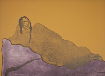 Fritz Scholder, 'Reclining Indian Woman', 1975