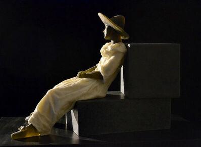 Nicolas Africano, 'Garbo Figure (figure on two cubes)', 2018