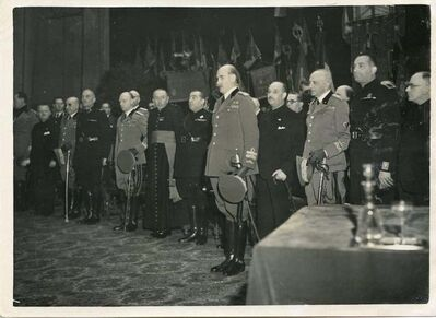 Unknown, 'Graziani during an Official Ceremony', 1935