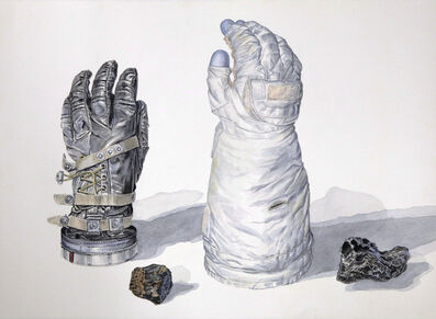 Thomas Broadbent, 'Two Spacesuit Gloves with Meteorites', 2018