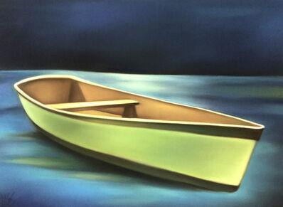 Margaret nes, 'Green Boat Drift', 2018