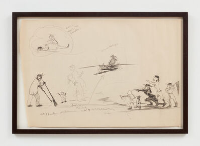 Kara Walker, 'Study for The End of Uncle Tom and the Grand Allegorical Tableau of Eva in Heaven', 1995
