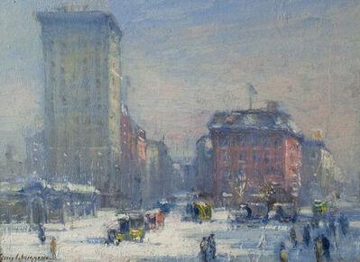 Guy Carleton Wiggins, 'The Circle, New York City'