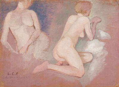 Leonetta Cecchi Pieraccini, 'Studio di nudo', probably 1948