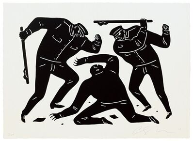 Cleon Peterson, 'Civil Rights (Black Edition)', 2015