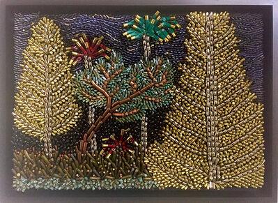 Federico Uribe, 'Gold Pine Trees', 2015