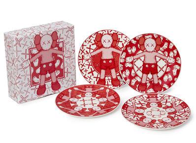 Katherine Bernhardt Large Ceramic Plate