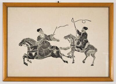 Unknown Chinese, 'Riders', Early 20th Century