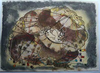 Francisco Toledo, 'Sapo que se Enredo en sus Hilos ', 2001