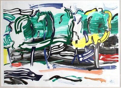 Roy Lichtenstein, 'Road Before the Forest', 1985