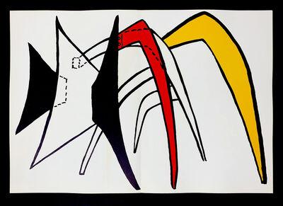 Alexander Calder, 'Derriere Le Miroir No. 141 Stabile 1', 1963
