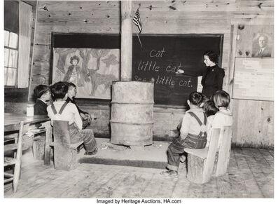 Arthur Rothstein, 'Untitled (School Room)', circa 1940