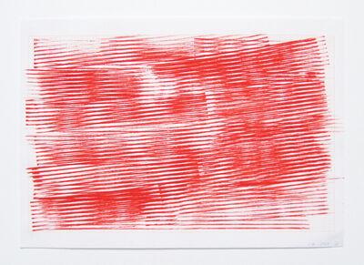 Serena Amrein, 'linienstempel 3', 2009