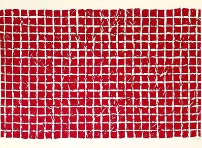 Simon Hantaï, 'Tabula', 1975