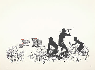 Banksy, 'Trolleys', 2006