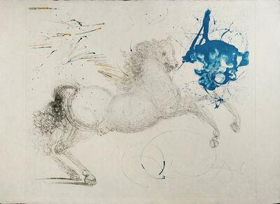 Salvador Dalí, 'Pegasus', 1964