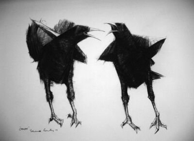 Terence Coventry, 'Choughs ', c.2011
