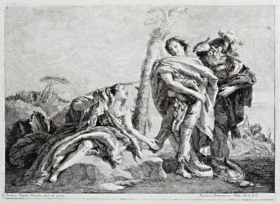 Giovanni Domenico Tiepolo, 'Rinaldo Abandons Armida', 1757