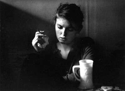 Dave Heath, 'Jennine Pommy Vega, 7 Arts Coffee Gallery, New York City', 1959