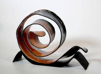 Carol Berger, 'Fern Frond- Porcelain, dark tones, decor, contemporary', 2020