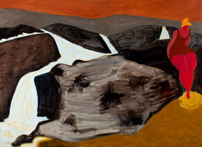 Sally Michel, 'Winding Stream', 1974