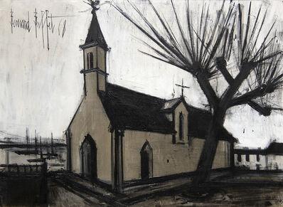 Bernard Buffet, 'Église de Sainte-Marine', 1968
