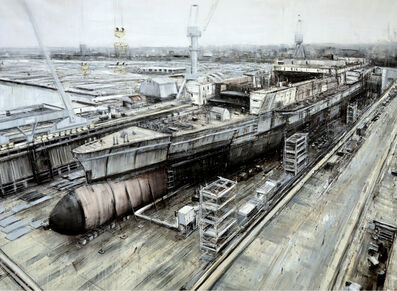 Valerio D'Ospina, 'Ship Under Construction', 2011