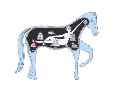 Dana Sherwood, 'Inside the Belly of a Horse', 2018