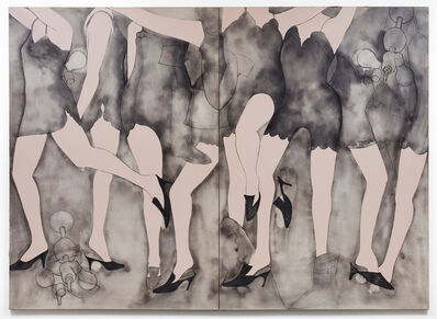 Jim Dine, 'Moving Girls & Dreams', 1965