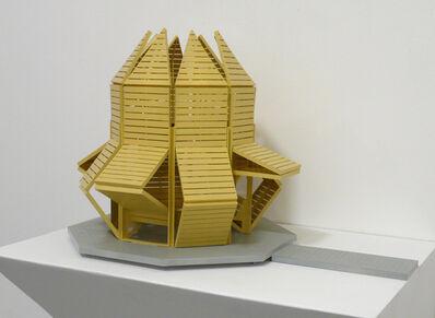 Michael Jantzen, 'Shape Shifting Pavilion (Maquette)', 2014