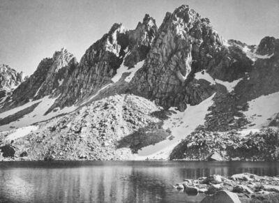 Ansel Adams, 'Kearsarge Pinnacles in Kings River Sierra', 1939