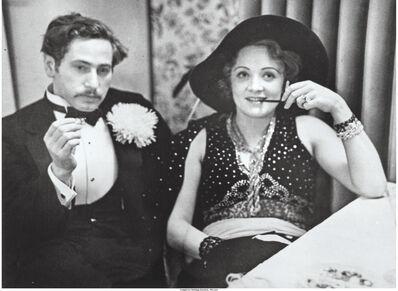 Alfred Eisenstaedt, 'Josef von Sternberg and Marlene Dietrich, Reimann Arts School ball, Marmorsaal, Berlin', 1928
