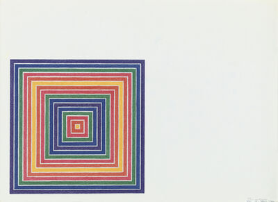 Frank Stella, 'Honduras Lottery Co.', 1972