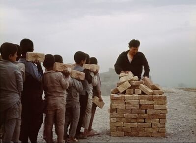 Lida Abdul, 'Brick sellers of Kabul 4', 2007