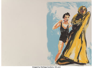Eric Fischl, 'Annie, Gwen, Lilly, Pam, and Tulip (woman in black, woman in robe)', 1986