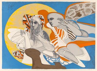 Arnold Belkin, 'Simon and Yohai', 1969