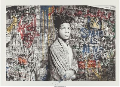 Mr. Brainwash, 'Samo is alive (Basquiat)', 2016