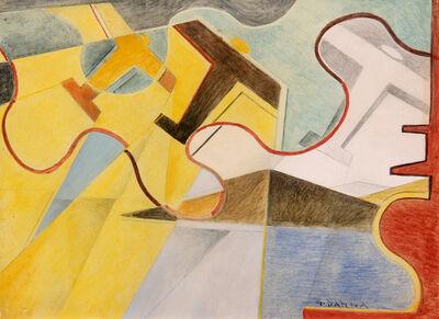 Giulio D'Anna, 'Senza titolo', 1932-33