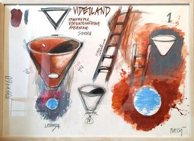 Fabrizio Plessi, 'Videoland III', 1987