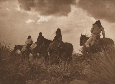 Edward Sheriff Curtis, 'Storm – Apache', 1906