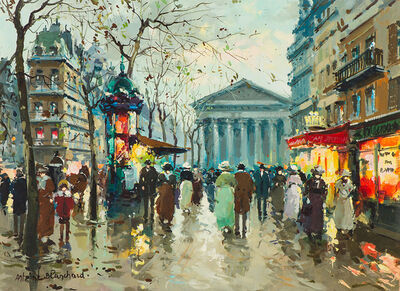Antoine Blanchard, 'Untitled (La Madeleine from Rue Tronchet)', 20th Century