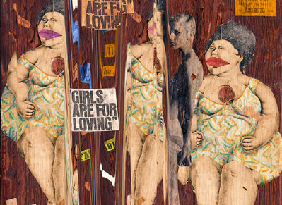 Melanie Willhide, 'Girls are for Loving', 2017