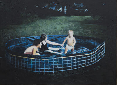 Lisa Golightly, 'Blue Pool', 2019