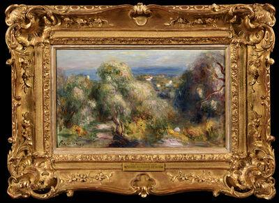 Pierre-Auguste Renoir, 'Vue des Colletes à Cagnes', ca. 1898