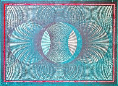 Gwenaël Rattke, 'Projections II (green & pink)', 2012